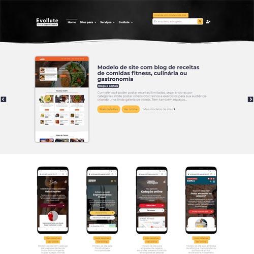 Crie um site para vender modelos de sites prontos e profissionais com excelente lucratividade