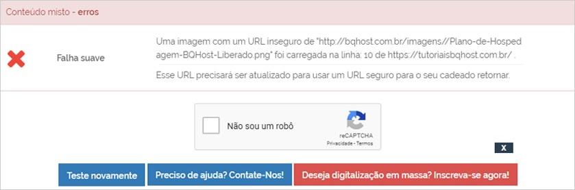 Encontrar problemas de SSL