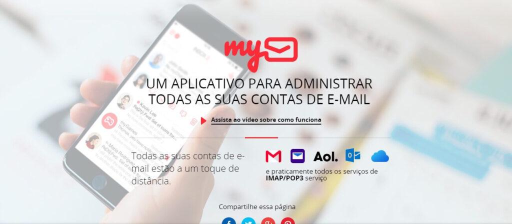 Gerenciar e-mail profissional pelo My Mail