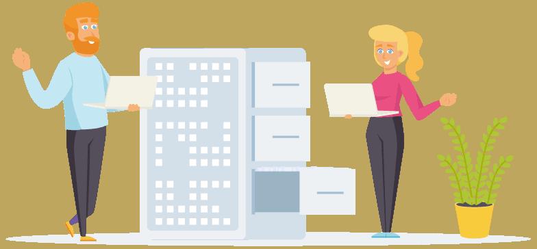 Glossário sobre gerenciadores de hospedagem de site