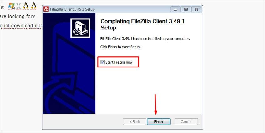 Como instalar o Filezilla