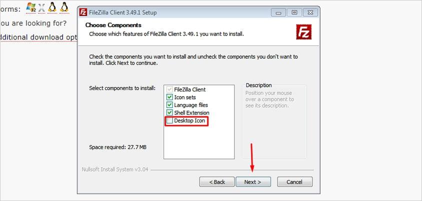 Instalar o FileZilla