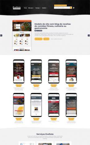 Evollute - Site para quem deseja trabalhar com revenda de sites prontos e profissionais