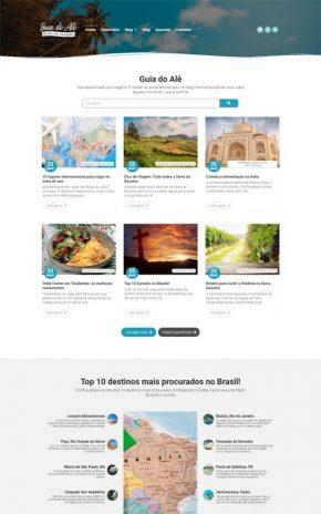 Guia do Alê - Site com blog de viagens