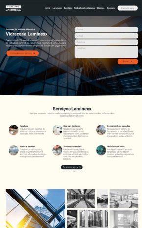 Laminexx - Site para vidraçarias e empresas de vidros, alumínios e box