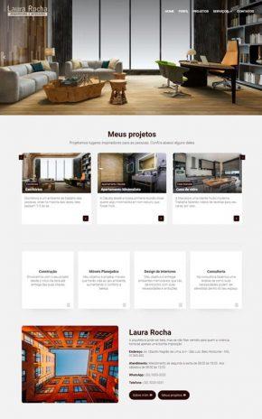 Site para Arquiteto, urbanista, designers de interiores, escritórios de arquitetura e paisagista